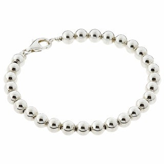 Sterling Silver Classic Bead Bracelet