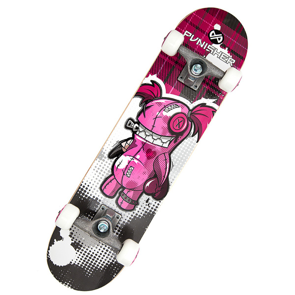 Punisher Skateboards Voodoo 31-inch Complete Skateboard