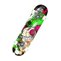 Punisher Skateboards Jinx 31.5-inch Complete Skateboard