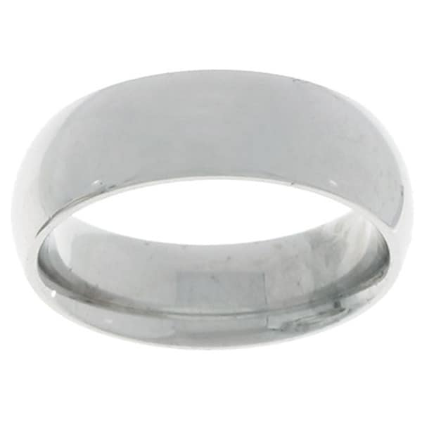 10k White Gold Comfort Fit 6-mm Wedding Band