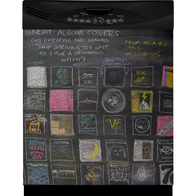 Appliance Art Instant Chalkboard Dishwasher Cover - Thumbnail 0