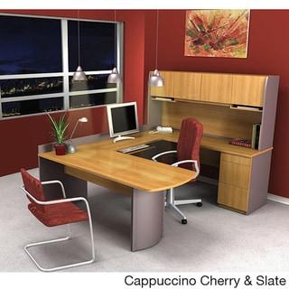 Bestar Executive U-shaped Workstation Desk