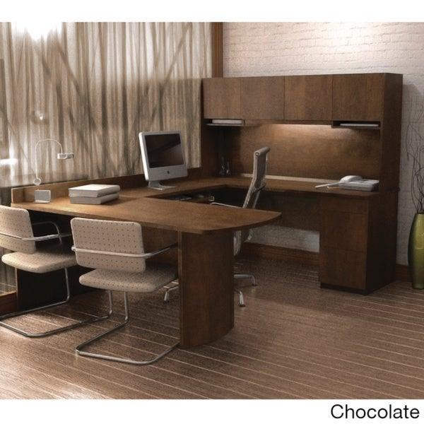 Bestar Executive U-shaped Workstation