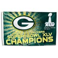 Green Bay Packers Super Bowl Champion Banner Flag