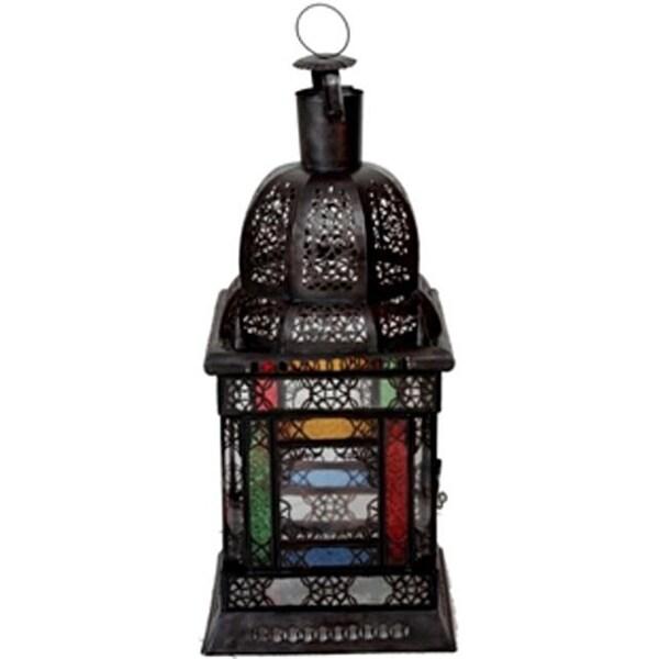 Aladdin 1-light Bronze Chandelier (Morocco)