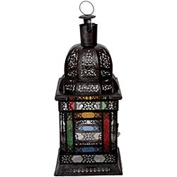 Aladdin 1-light Bronze Chandelier (Morocco)