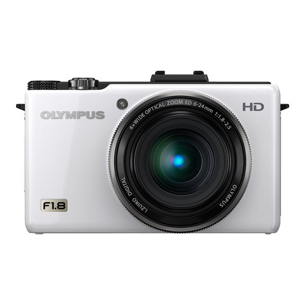Olympus XZ-1 10MP White Digital Camera