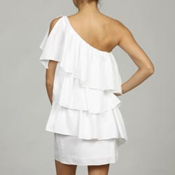 Issue New York Women's Ruffled One-shoulder Cocktail Dress