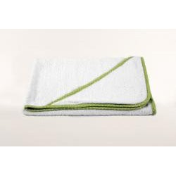 Hooded Baby Contrast Trim Towels (set of 2)