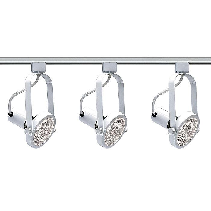 Nuvo Lighting 3-Light White Track Light Kit