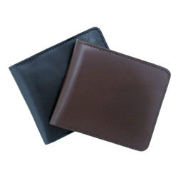Leatherbay Men's Leather Brown Bi-fold Wallet