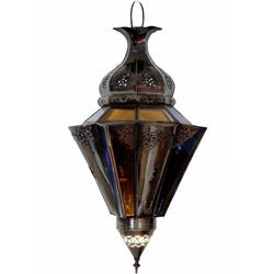 Handmade Red Labeled Soft Touch Moroccan Chandelier (Morocco)