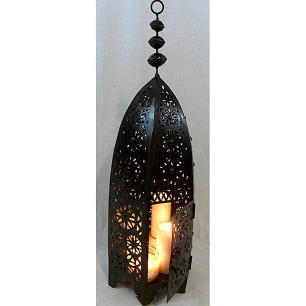 Moroccan Royal Bronze Floor Lamp (Morocco)
