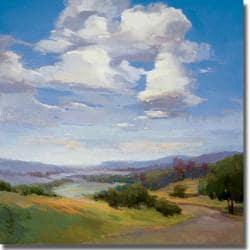 Vicki McMurry 'No Boundaries' Canvas Art