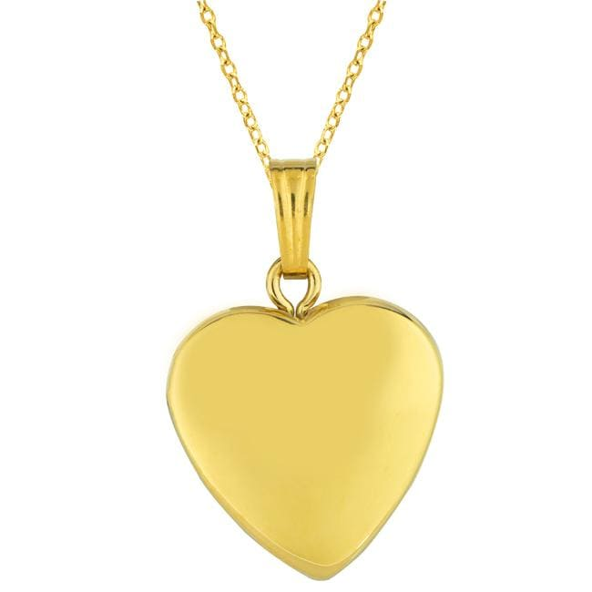Sterling silver 14k gold heart locket necklace free shipping sterling silver 14k gold heart locket necklace mozeypictures Images
