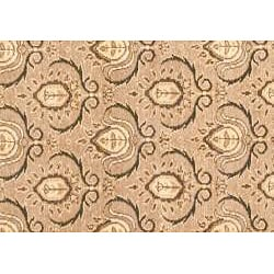 Herat Oriental Afghan Hand-knotted Oushak Wool Rug (5'9 x 8'9) - Thumbnail 1