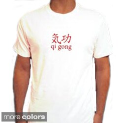 Yogacara Men's 'Qi Gong' Artwork Tee
