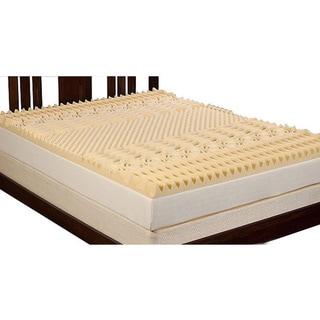 Select Luxury 3-inch Queen/ King-size Memory Foam 7-zone Mattress Topper