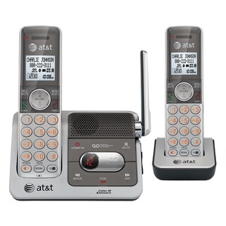 AT&T CL82201 DECT 6.0 Expandable Cordless Phone with Answering System