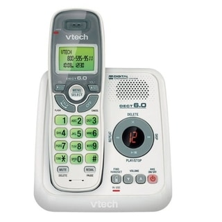 VTech CS6124 DECT 6.0 Cordless Phone with Answering System and Caller