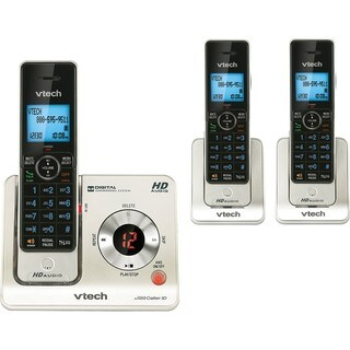VTech LS6425-3 DECT 6.0 Expandable Cordless Phone with Answering Syst