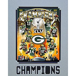 Super Bowl XLV Champions Green Bay Packers Matted Photo - Thumbnail 0