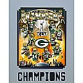 Super Bowl XLV Champions Green Bay Packers Matted Photo