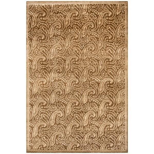 Shop Handmade Thomas O Brien Margo Slate Wool Silk Rug