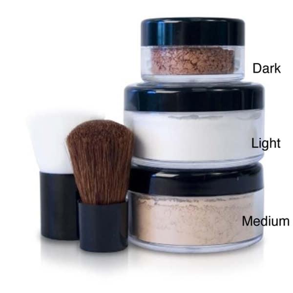 Mineral Bronzer Foundation Finisher Makeup Set