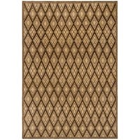 Handmade Thomas O'Brien Icona Cocoa Tan Wool Rug - 8' x 10'