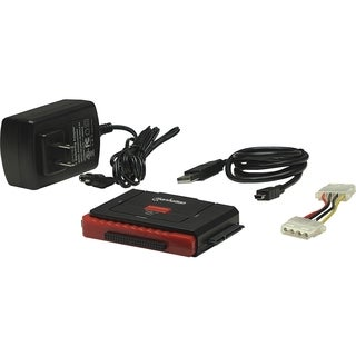 Manhattan 3-in-1 Hi-Speed USB to SATA/IDE Adapter