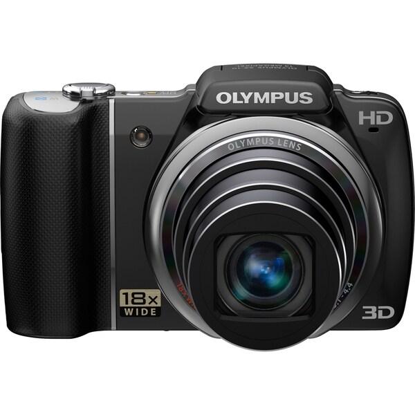 Olympus SZ-10 14 Megapixel Compact Camera - Black