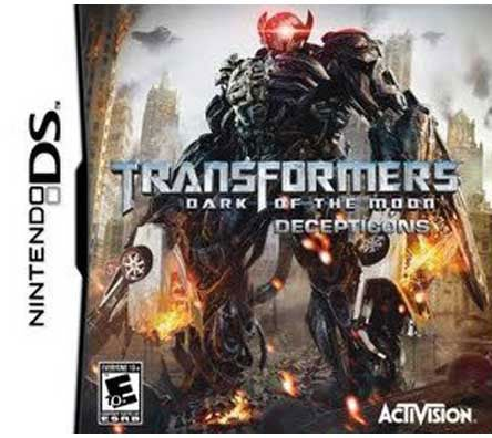 NinDS - Transformers: Dark of the Moon Decepticons - By Activision