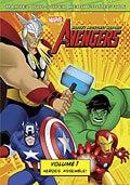 Avengers: Earth's Mightiest Heroes! Vol. 1 (DVD)