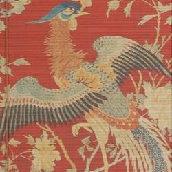 Handmade Bamboo 'Red Phoenix' Window Blinds (60 in. x 72 in.) (China)
