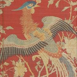 Handmade Bamboo 'Red Phoenix' Window Blinds (72 in. x 72 in.) (China)