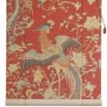 Handmade Bamboo 'Red Phoenix' Window Blinds (72 in. x 72 in.) (China)