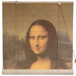 Handmade Bamboo 'Mona Lisa' Window Blinds (72 in. x 72 in.) (China)