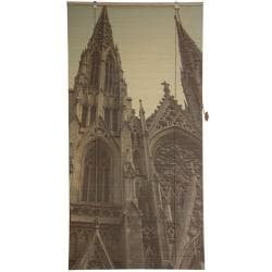 Handmade Bamboo 'St. Patrick's Cathedral' Window Blinds (72 in. x 72 in.) (China) - Thumbnail 2