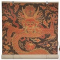 Handmade Bamboo Dragon Design Window Blinds (60 in. x 72 in.) (China)