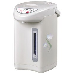 Sunpentown SP-3201 White/ Floral Hot Water Dispenser