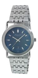 Kenneth Cole Men's Silvertone Blue Dial Watch