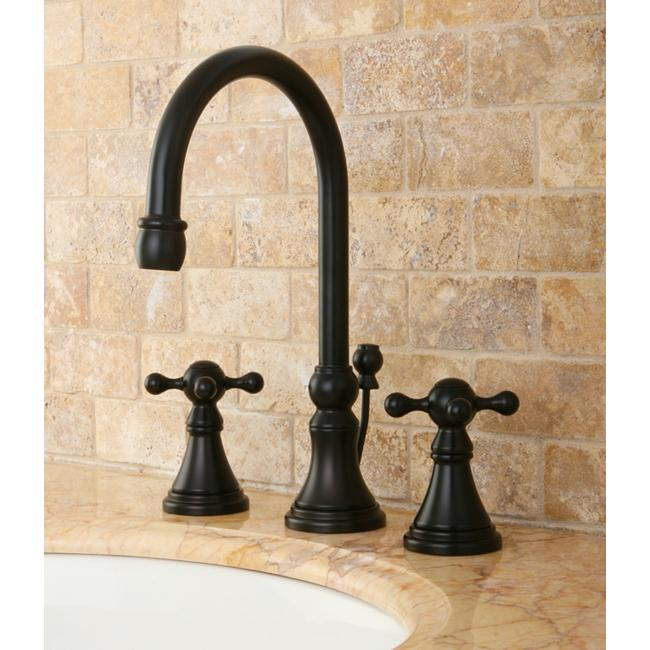 governor widespread oil rubbed bronze bathroom faucet