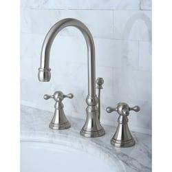 Governor Satin Nickel Widespread Bathroom Faucet