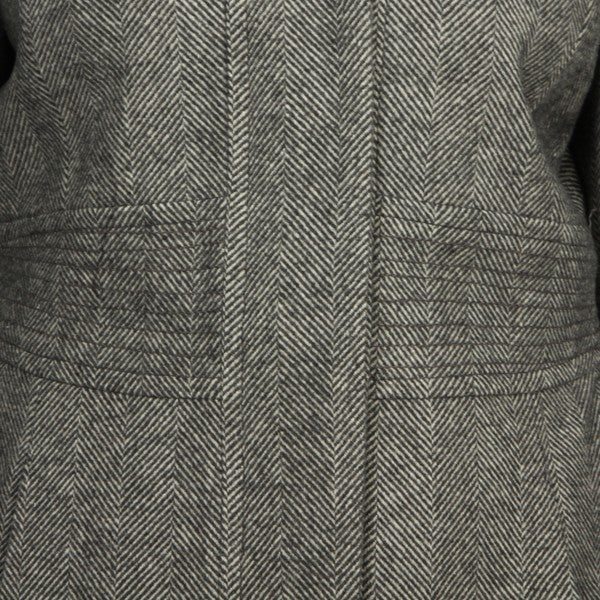Shop Esprit Women's Tweed Fur trimmed Hood Coat Free