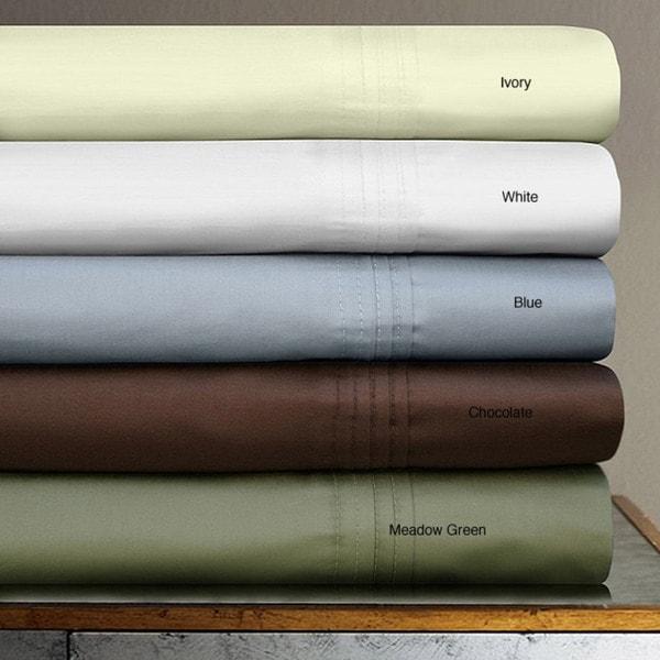 Egyptian Cotton 700 Thread Count Deep Pocket 6-piece Sheet Set
