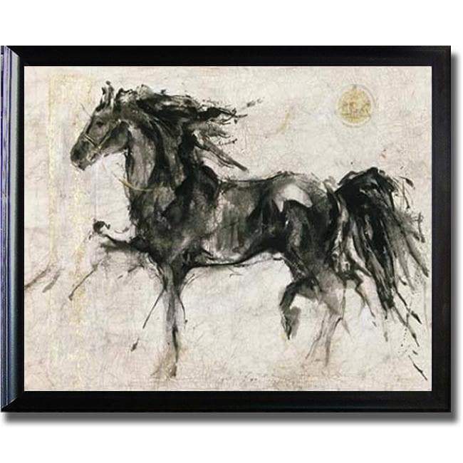 Marta Gottfried 'Lepa Zena' Framed Canvas Art