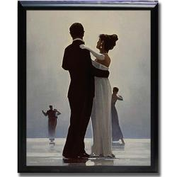 Traditional Jack Vettriano 'Dance Me to the End of Love' Framed Canvas Art - Thumbnail 1