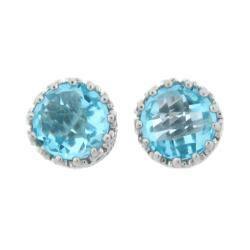 Meredith Leigh Sterling Silver Crown-set Blue Topaz Earrings https://ak1.ostkcdn.com/images/products/5690565/73/928/Meredith-Leigh-Sterling-Silver-Crown-set-Blue-Topaz-Earrings-P13432952.jpg?impolicy=medium