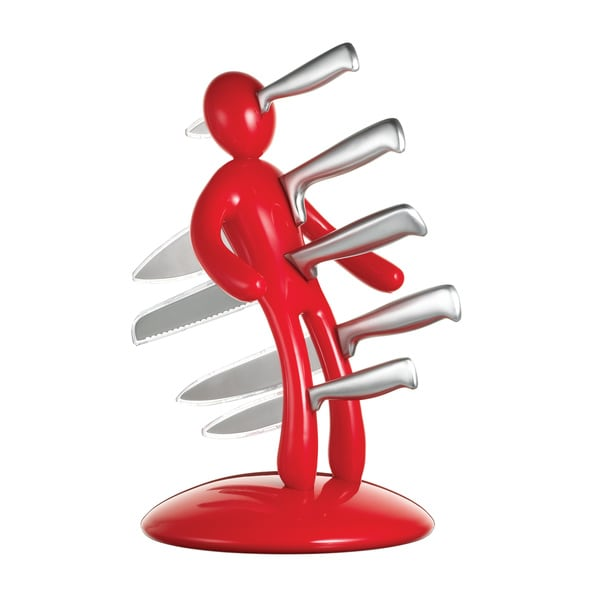 The Ex Knife Holder, 2nd Edition, Red